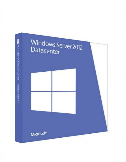 Windows Server 2012 Datacenter, WIN, x64, 1pk, 2u, DSP, OEI, DVD, ENG
