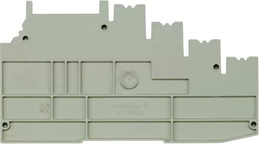 Abschlussplatte AP ZRV2.5 1906980000 Weidmüller 10 St.