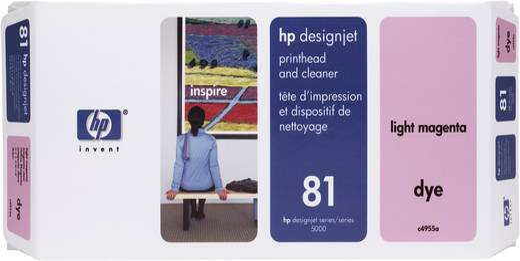 HP Druckkopf 81 Original Hell Magenta C4955A