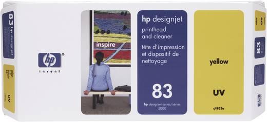 HP Tinten-Druckkopf 83 Gelb C4963A