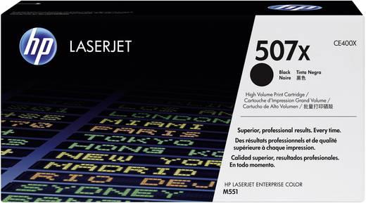 HP Toner 507X CE400X Original Schwarz 11000 Seiten