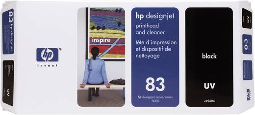 HP Tinten-Druckkopf 83 Schwarz C4960A