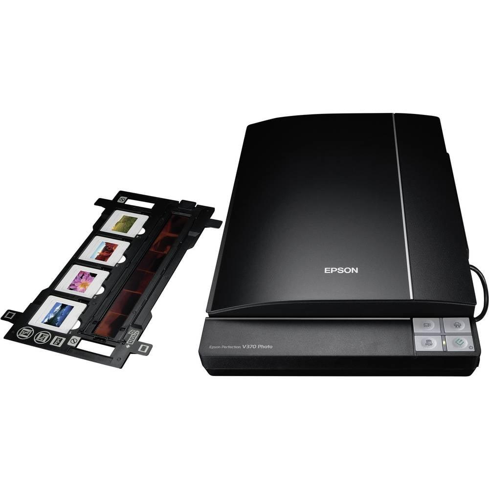 scanner piatto a4 epson perfection v370 photo 4800 x 9600 dpi usb documenti foto diapositive. Black Bedroom Furniture Sets. Home Design Ideas