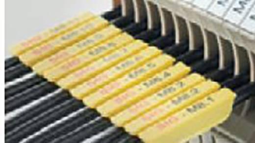 Leitermarkierer Montageart: aufclipsen Beschriftungsfläche: 21 x 3.20 mm Passend für Serie Einzeldrähte Weidmüller SF 0