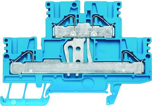 Doppelstock-Reihenklemme PDK 2.5/4V BL Weidmüller Inhalt: 50 St.
