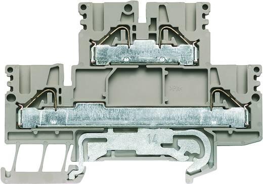 Doppelstock-Reihenklemme PDK 2.5/4N-PE Weidmüller Inhalt: 50 St.