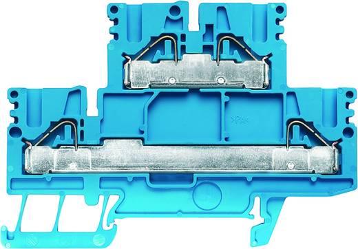 Doppelstock-Reihenklemme PDK 2.5/4 BL Weidmüller Inhalt: 50 St.