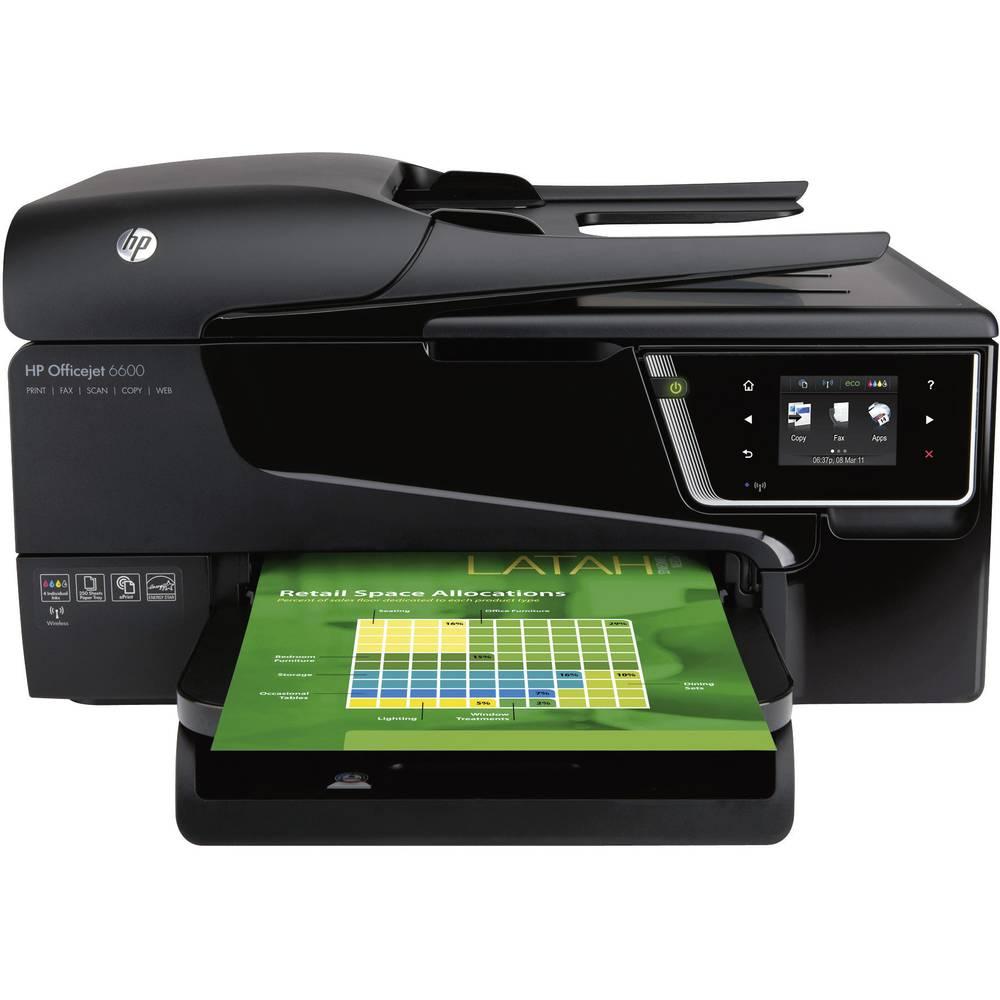 imprimante multifonction jet d 39 encre hp officejet 6600 e. Black Bedroom Furniture Sets. Home Design Ideas