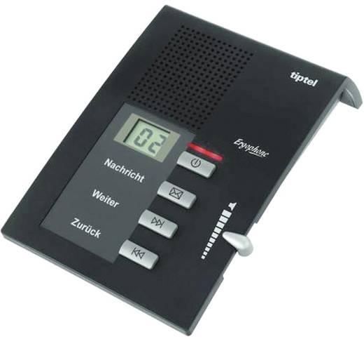 TipTel Anrufbeantworter Ergophone 307 mit 30 s Ansagetext-Länge und 40 min Aufzeichnung