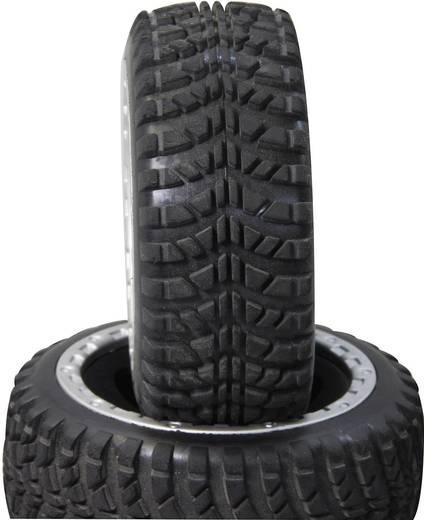 Jamara Truggy Komplettrad mit 7-Speichen-Felge N/A und Stollen Reifen-Profil