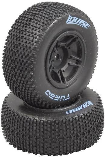 Jamara 1:10 Truggy Komplettrad mit 6-Speichen-Felge N/A und Pins Reifen-Profil