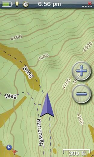 Magellan Topografische Karte Summit Österreich/Südtirol