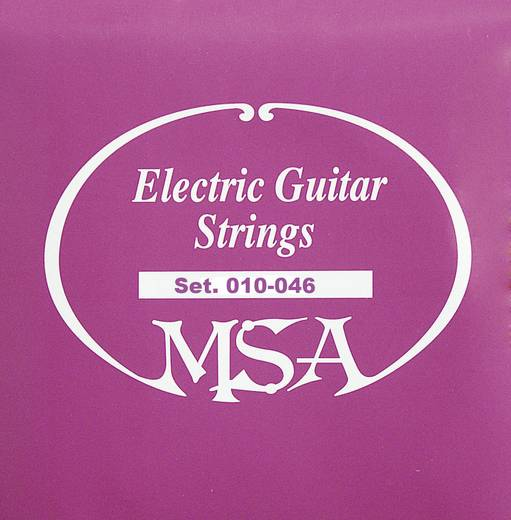 E-Gitarrensaiten MSA Musikinstrumente SK50 010-046
