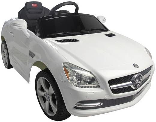 Jamara Kinderauto Ride-On Mercedes Benz SLK mit Fernsteuerung