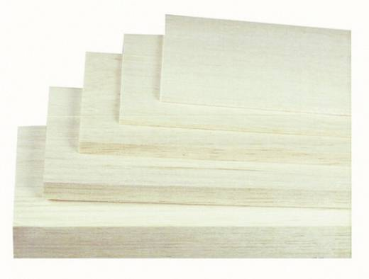 Jamara Balsabretter 8 mm (L x B) 1000 mm x 100 mm