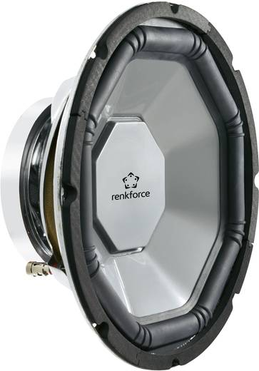 Auto-Subwoofer-Chassis 300 mm 500 W Renkforce 370335 4 Ω