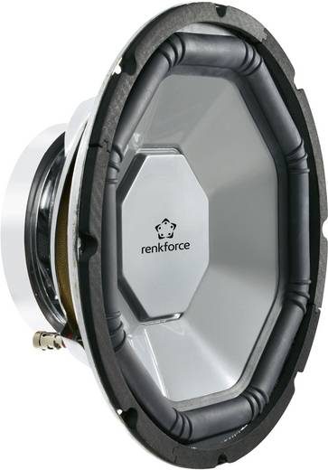 Auto-Subwoofer-Chassis 300 mm 500 W Renkforce 4 Ω