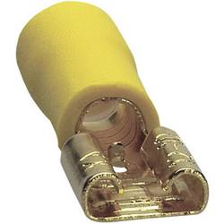 Image of Sinuslive Car HiFi Flachstecker 10er Set 6 mm² 6.3 mm vergoldet