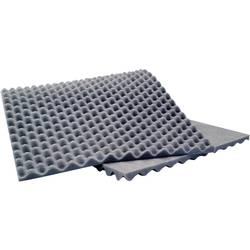 Akustická pěna Sinuslive 10076, (d x š x v) 900 x 400 x 20 mm, polyuretan, šedá