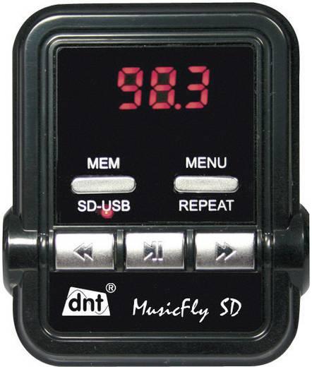 FM Transmitter dnt MusicFly SD mit Fernbedienung, Integrierter MP3-Player