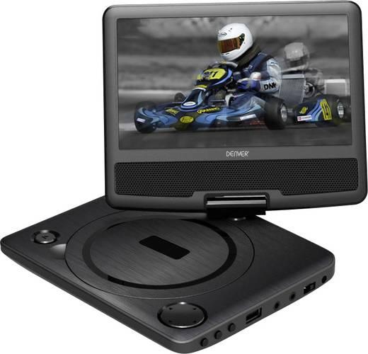 Tragbarer DVD-Player 17.78 cm 7 Zoll Denver MT-783NB Schwarz