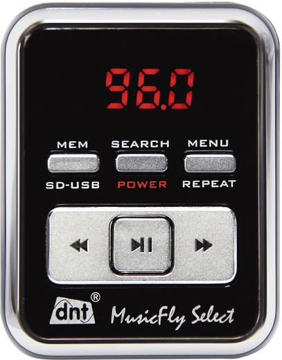 dnt MusicFly SELECT FM Transmitter mit Fernbedienung