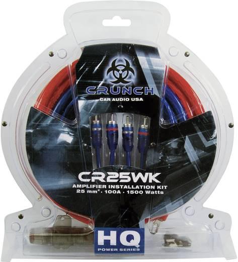 Car HiFi Endstufen-Anschluss-Set 25 mm² Crunch cr25wk