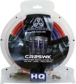 Sada na pripojenie Hi-Fi zosilňovača do auta Crunch cr25wk, 25 mm²