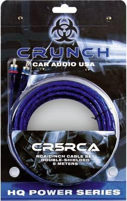 Image of Cinchkabel 5 m Crunch cr5rca [2x Cinch-Stecker - 2x Cinch-Stecker]