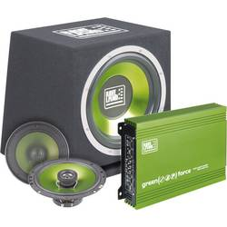 Image of Raveland Green Force II Car-HiFi-Set