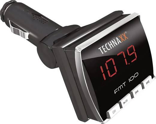 FM Transmitter Technaxx mit Fernbedienung, Integrierter MP3-Player, mit Ladefunktion für iPhone