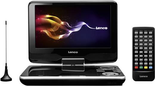 lenco dvp 9411 tragbarer fernseher tragbarer dvd player. Black Bedroom Furniture Sets. Home Design Ideas