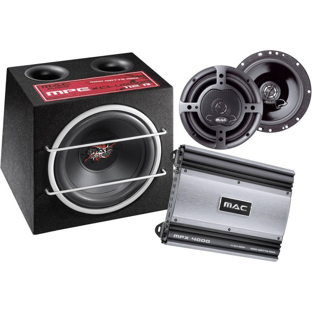 car hifi set mac audio xtreme 4000 2 im conrad online shop. Black Bedroom Furniture Sets. Home Design Ideas