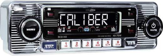 Autoradio Caliber Audio Technology RCD-110 Chrom Retro Design