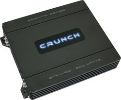 Koncový zesilovač Crunch GTX4400, 4x 60/100 W