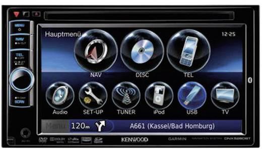 kenwood dnx 5280bt navigationssystem. Black Bedroom Furniture Sets. Home Design Ideas
