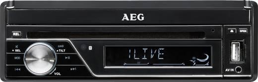 AEG AR4026DVD Moniceiver inkl. Fernbedienung, Anschluss für Rückfahrkamera, Bluetooth®-Freisprecheinrichtung