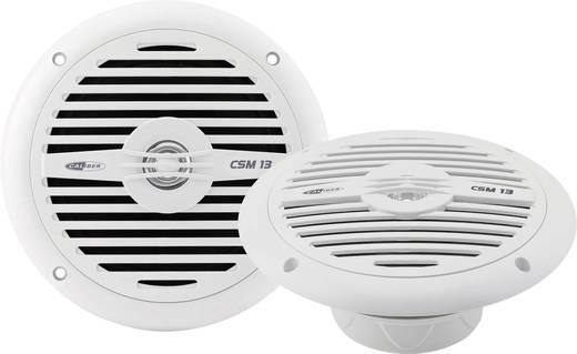 2-Wege Koaxial-Einbaulautsprecher 120 W Caliber Audio Technology CSM13 Blanc