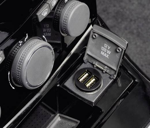 USB-Ladegerät Hama Dual Piccolino 00080799