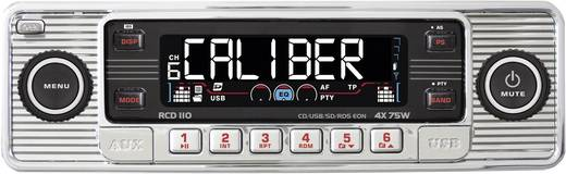 Caliber Audio Technology RCD-110 Chrom Autoradio Retro Design