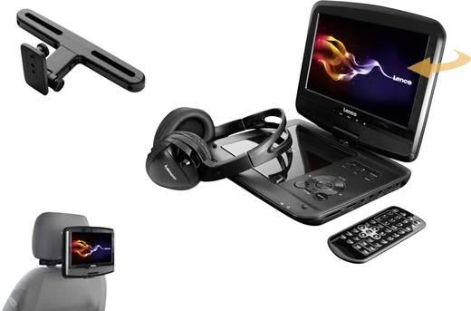 kopfst tzen dvd player mit monitor lenco dvp 937 bilddiagonale 22 5 cm 9 zoll. Black Bedroom Furniture Sets. Home Design Ideas