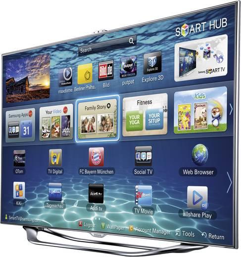 samsung ue46es8090sxzg led tv 116 cm 46 zoll dvb t dvb c dvb s full hd 3d smart tv wlan. Black Bedroom Furniture Sets. Home Design Ideas
