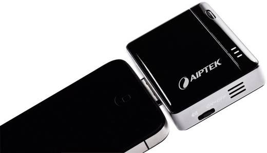 AIPTEK MobileCinema i20 Taschenbeamer, Helligkeit 12 lm, , 120 : 1, 20000 h, Schwarz, Silber