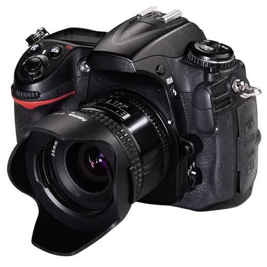Hama 00093655 Gegenlichtblende mit Objektivdeckel