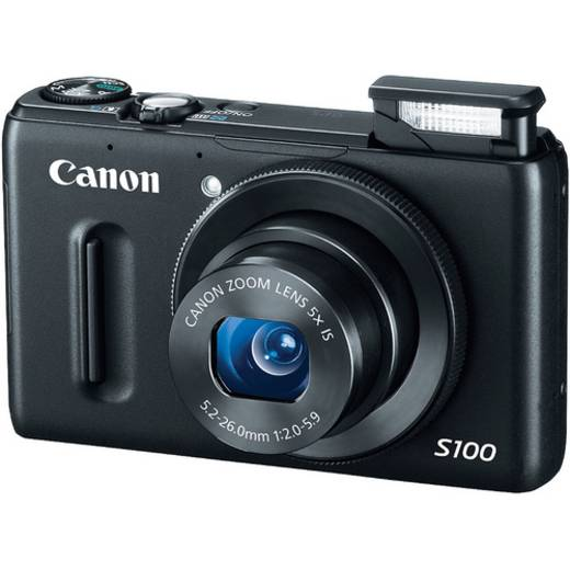 Digitalkamera Canon POWERSHOT S100 Schwarz