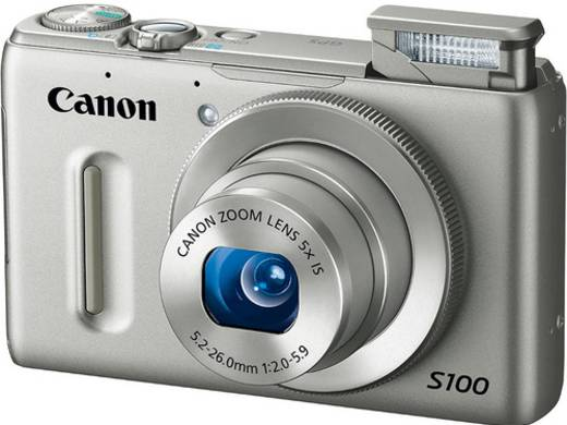 Digitalkamera Canon POWERSHOT S100 Silber