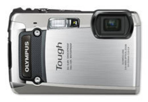 Digitalkamera Olympus TG-820 12 Mio. Pixel Silber