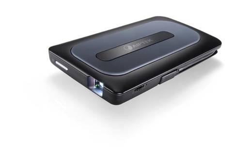 DLP Beamer Aiptek MobileCinema A50P Helligkeit: 50 lm 640 x 480 VGA 1000 : 1 Schwarz