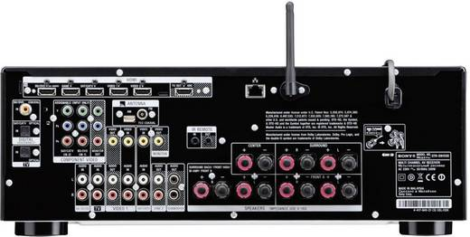 Sony STR-DN1030 AV-Receiver, Schwarz
