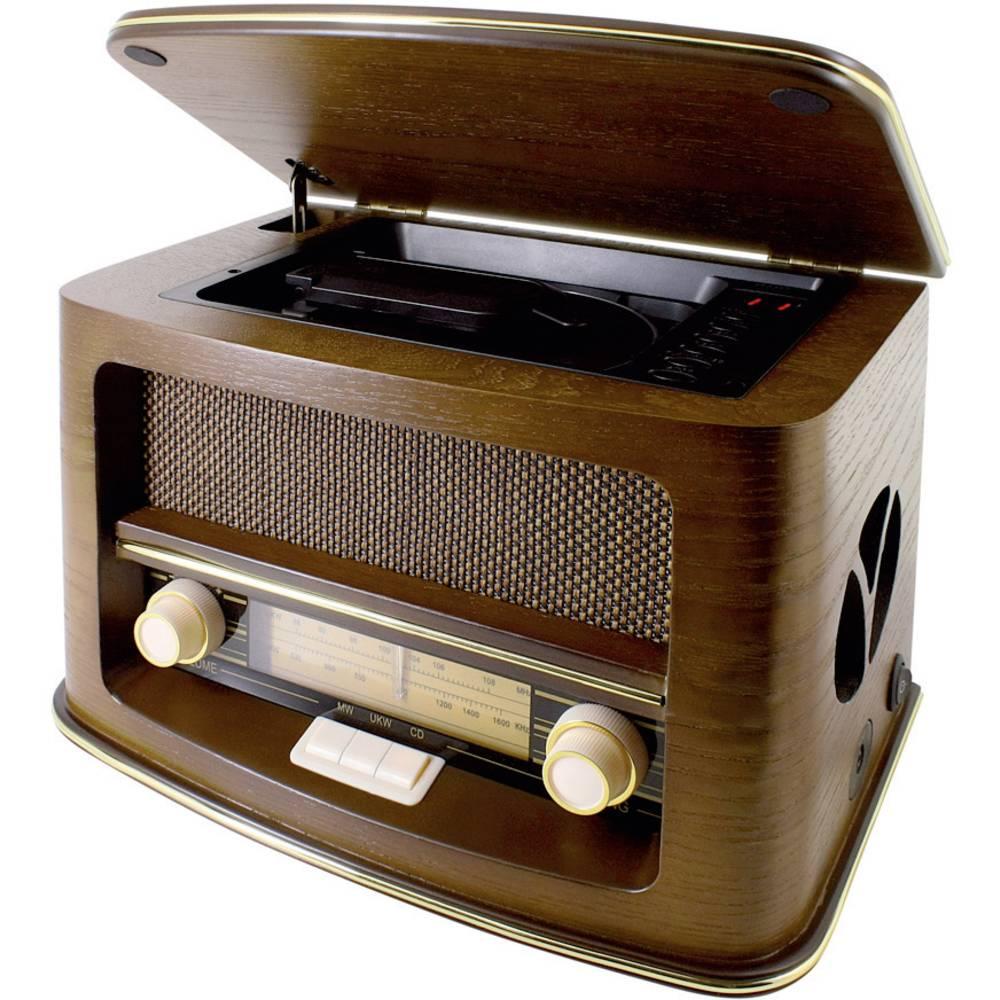 ukw tischradio soundmaster nr975 cd mw ukw holz im. Black Bedroom Furniture Sets. Home Design Ideas
